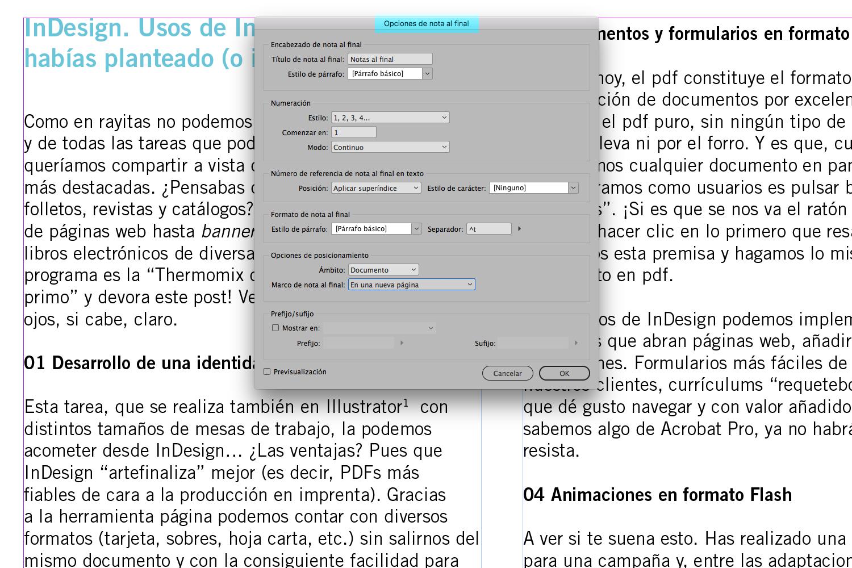 Indesign Cc 2018 Novedades Rayitas Azules Diseño Editorial Y Tipografía
