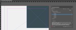 Artes finales en Adobe InDesign. Paleta comprobación preliminar