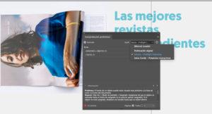 Artes finales en Adobe InDesign. Perfiles