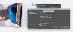 Artes finales en Adobe InDesign. Grosor de trazo mínimo