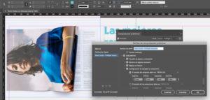 Artes finales en Adobe InDesign. Sangrado de documento