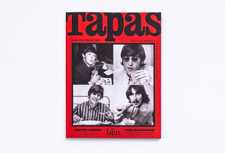Tapas portada con The Beatles