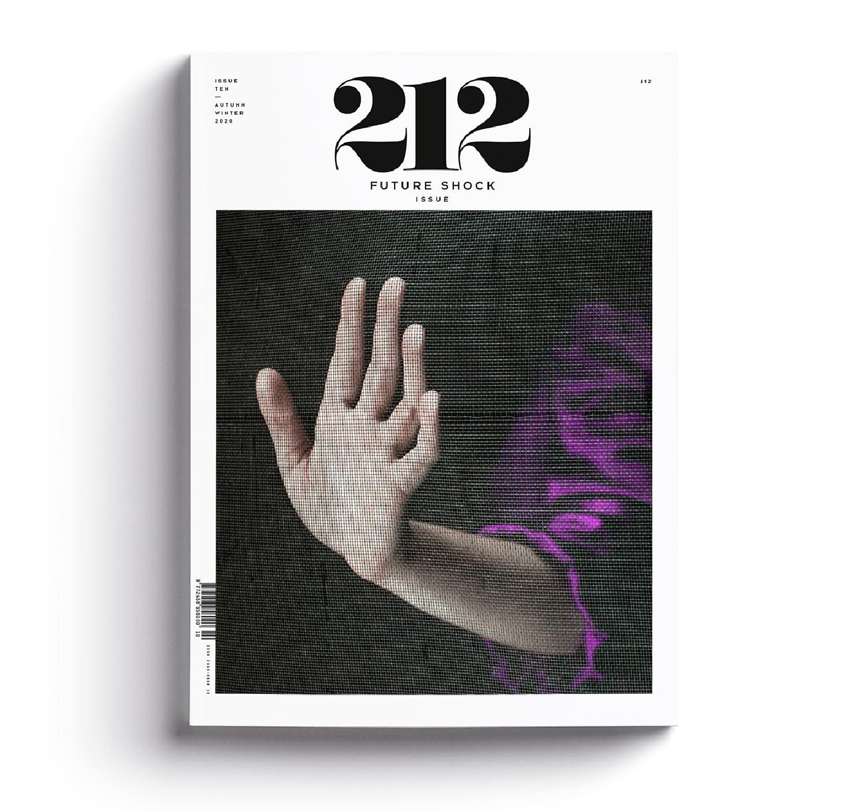 Revista 212 portada