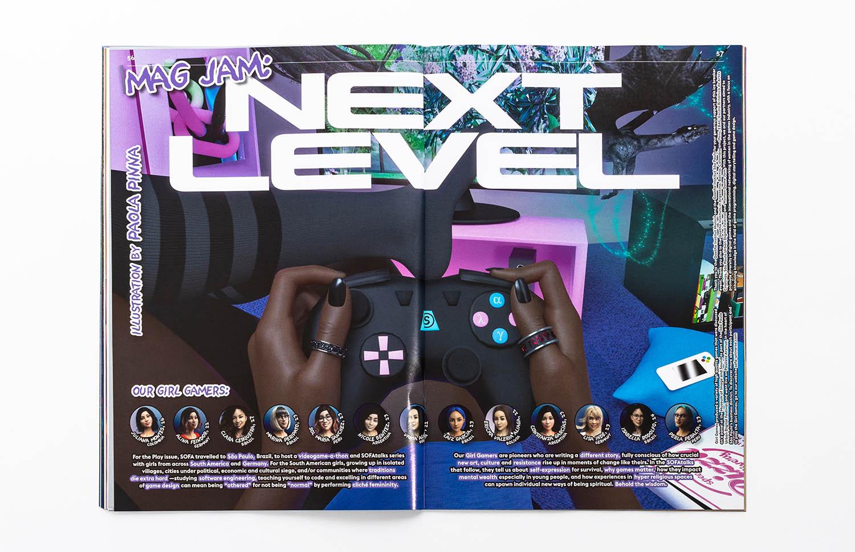 Sofa, una revista sobre videojuegos