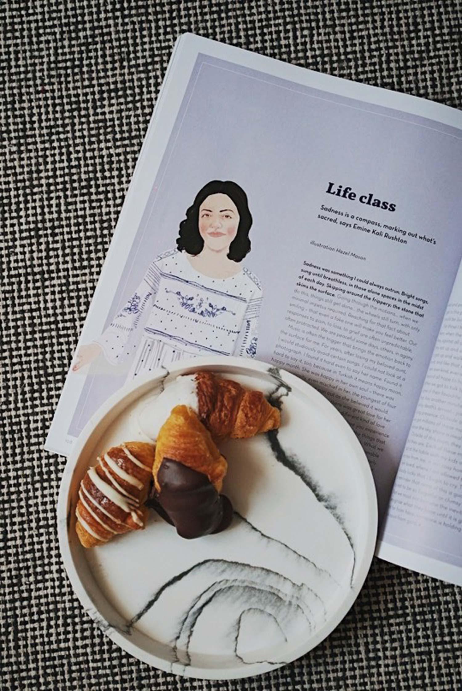 Oh magazine tripas con pastel encima