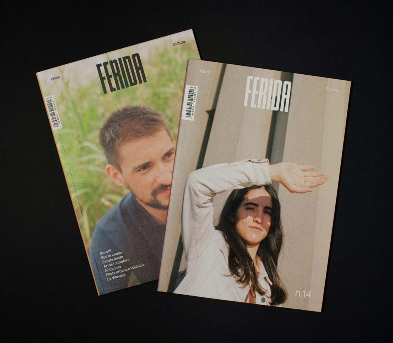 Revista Ferida portadas