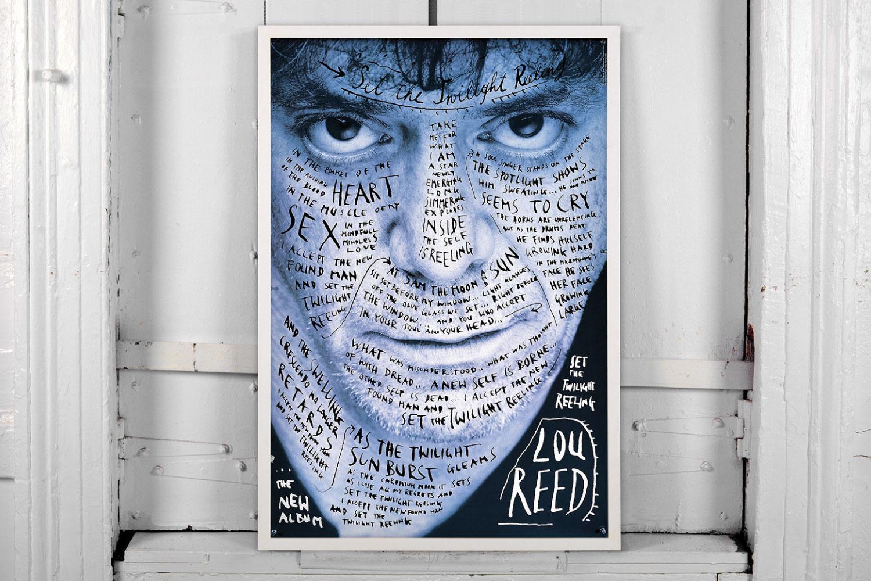 Cubierta Lou Reed 'Set the Twilight Reeling'